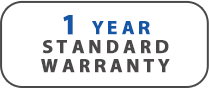 Olixir 1 yr standard warranty Graphic
