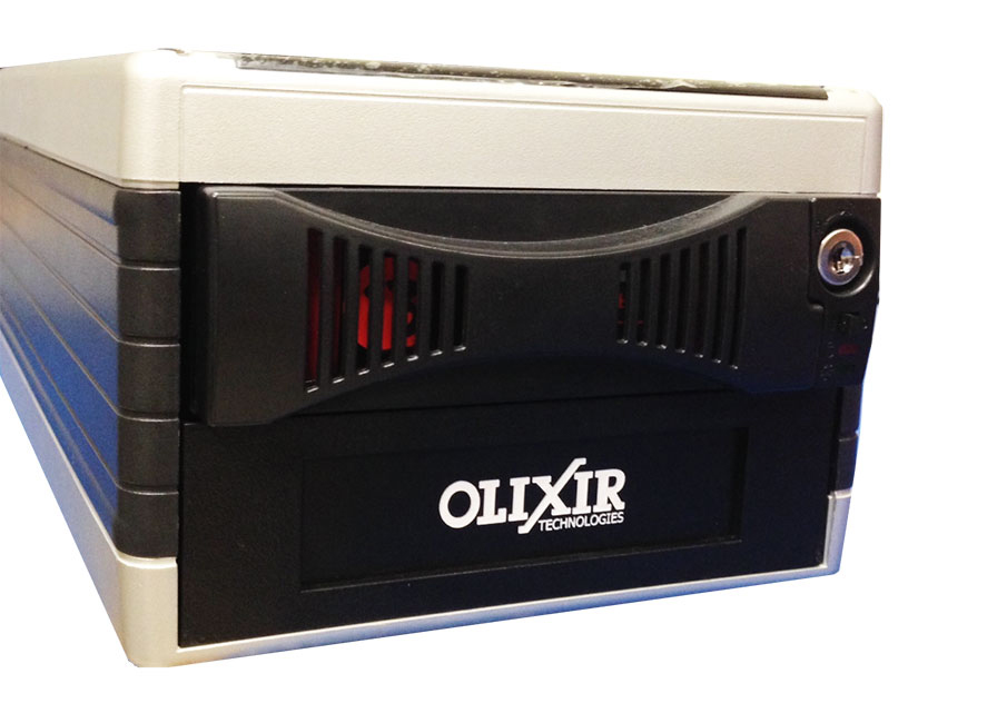 Olixir Suggested Products for Backup Data Solutions using removable Hard Drives