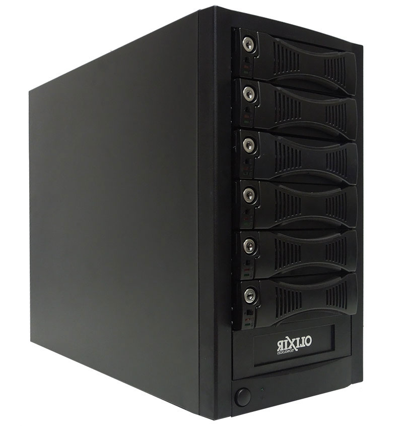 Olixir Suggested Products for Backup Data Solutions using removable Hard Drives Tower