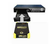 Olixir Yellow Removable Drive as a DVR Solution