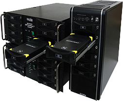 Olixir 19 ' h racks and towers for use with rugged removable hard drives
